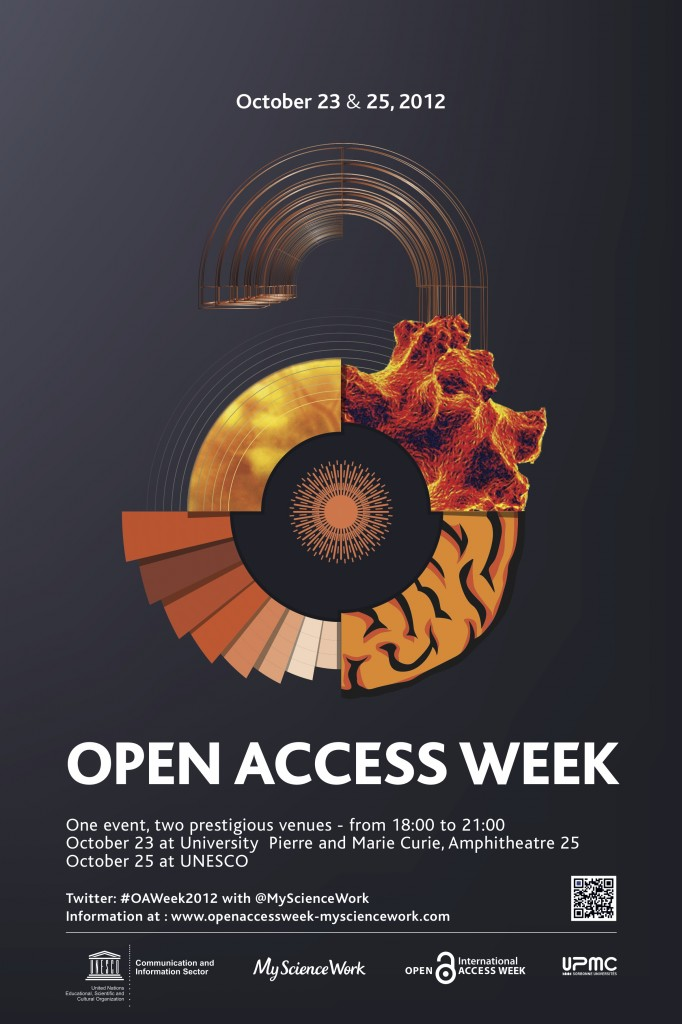 International Open Access Week 2012: Two Events in Paris