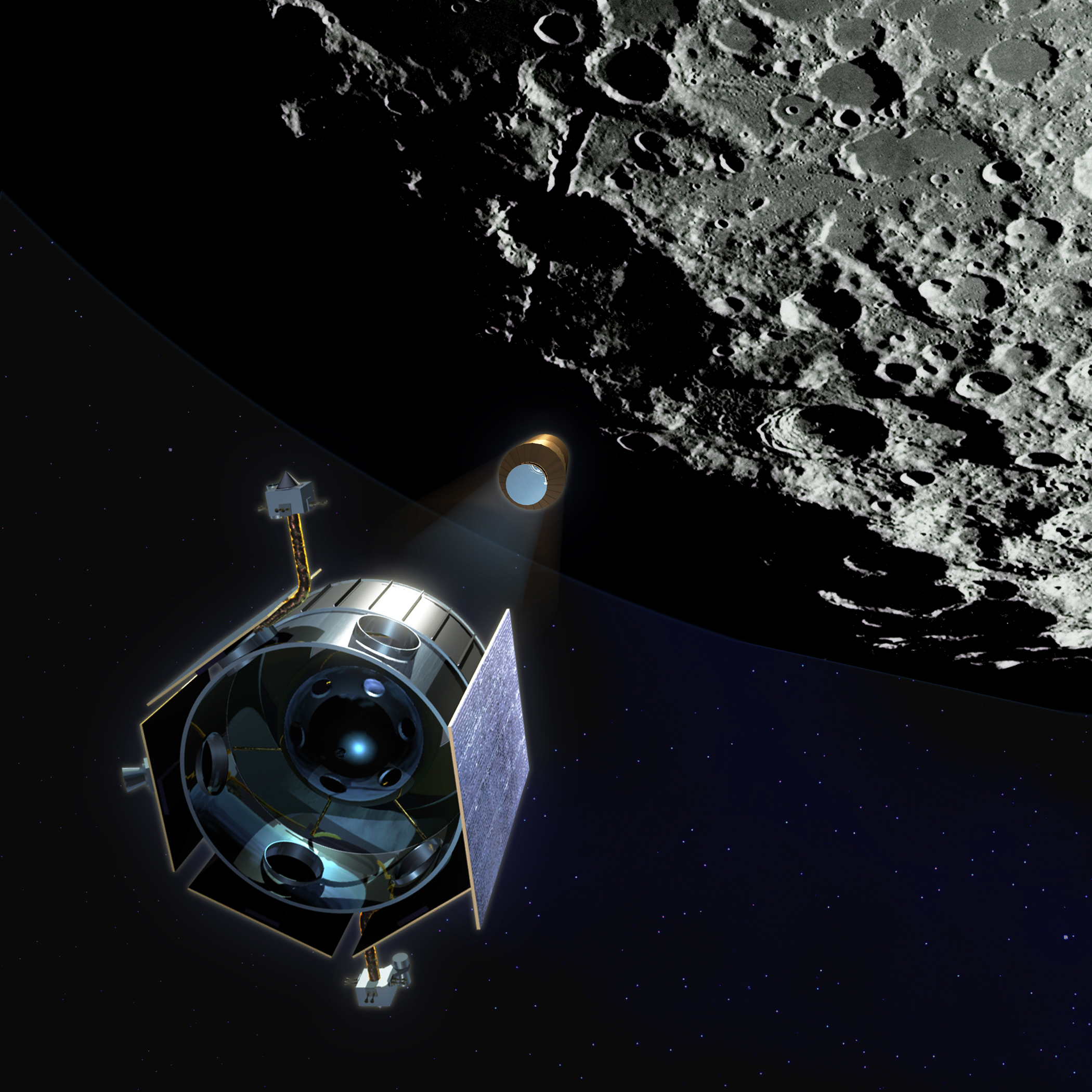 Lunar CRater Observation and Sensing Satellite (LCROSS)Nasa