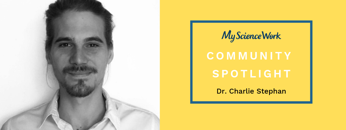 Community spotlight:  Charlie Stephan, Doctor of Process Engineering