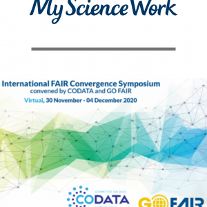 International FAIR Convergence Live Symposium, Enabling fair data from the onset with Artificial Intelligence scheduled for Dec 2nd.
